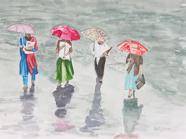 Betty-Anne McDonald - To work in the rain