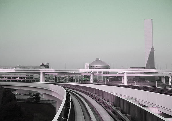 Tokyo Train Ride 2 Print by Naxart Studio