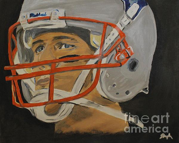 Tom Brady Print by Steven Dopka