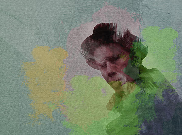 Tom Waits Print by Naxart Studio