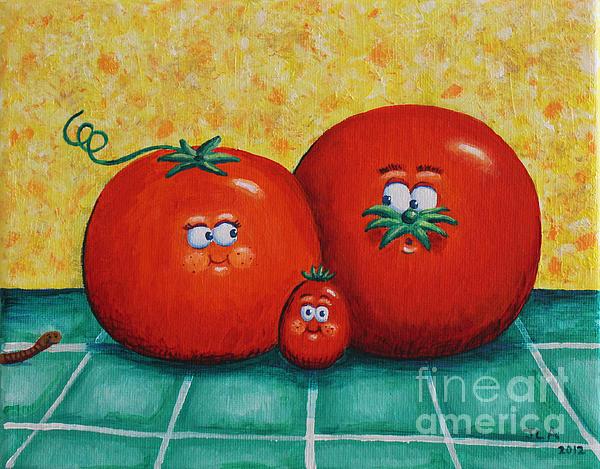Jennifer Alvarez - Tomato Family Portrait
