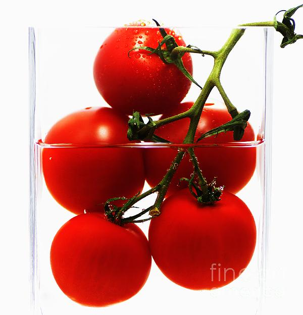 Tanja Riedel - Tomatos Art Abstract