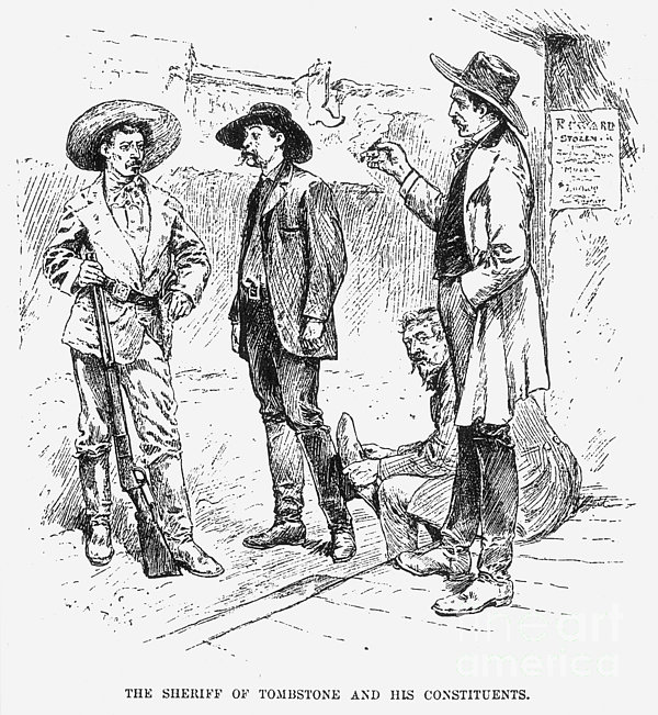 Tombstone Sheriff, 1883 Print by Granger