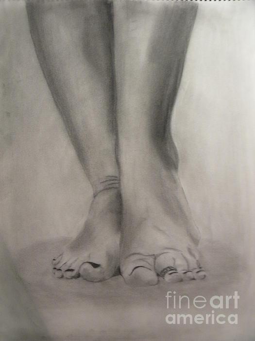 Tootsies Print by Leigha Sherman