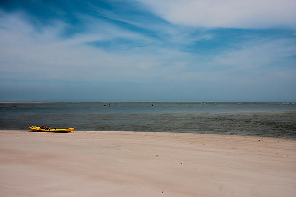 Topsail Kayak Print by Betsy A  Cutler
