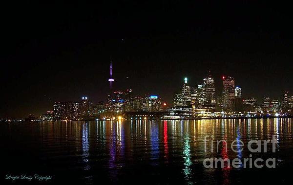 Lingfai Leung - Toronto Skyline at Night