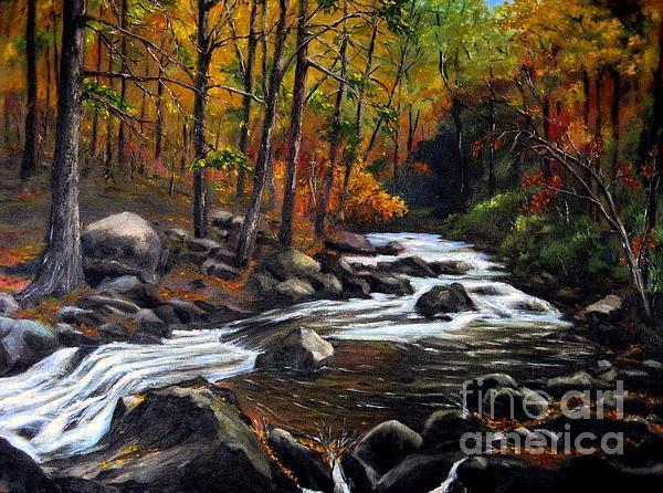Touch Of Fall Print by Ronald Tseng
