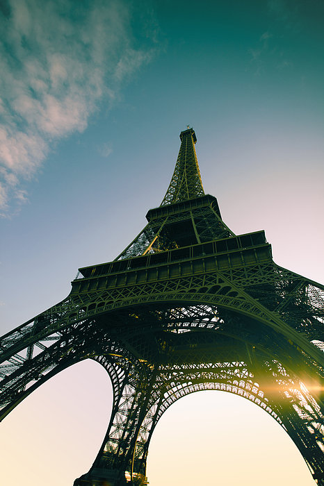 Tour Eiffel Print by Images by Fabio