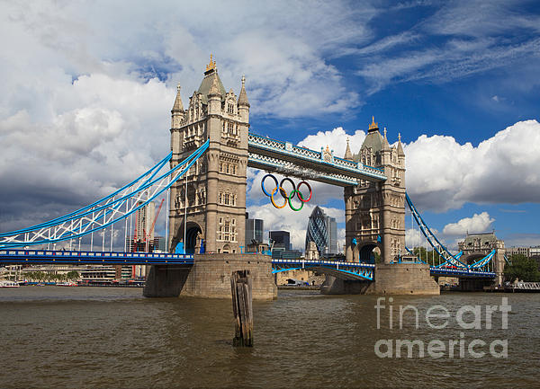 Pete Reynolds - Tower Bridge and the Olympic Rings