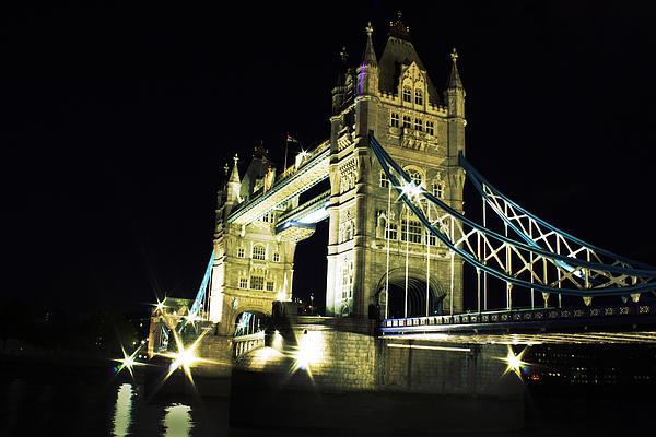 Tower Bridge Print by Dawid Jaron