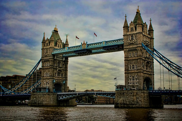 Tower Bridge London Print by Heather Applegate