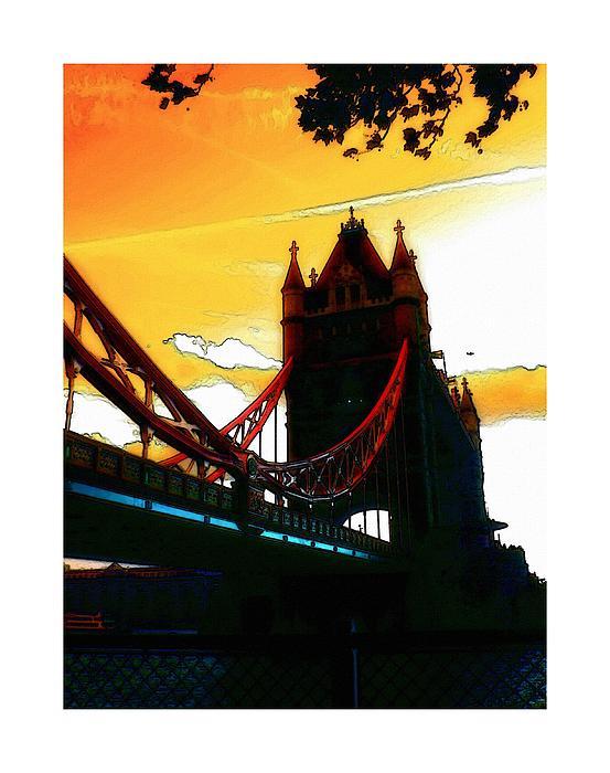 Tower Bridge London Print by Stefan Kuhn