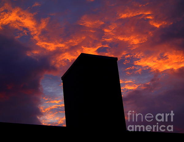 Towering Inferno  Print by Tammy Cantrell