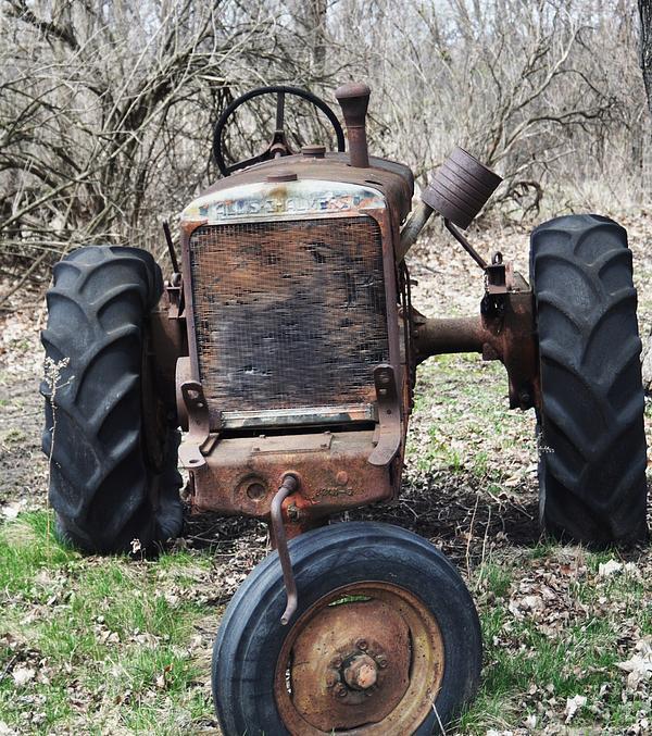 Tractor-1 Print by Todd Sherlock