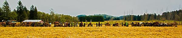 Tractors Ready Print by Dale Stillman