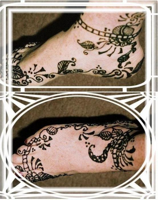 Traditional Henna Tattoo Designs: Traditional Mehndi Foot Designs By Henna Tattoos Ogden Utah