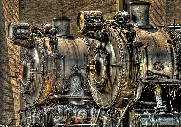 Train - Engine - Brothers Forever Print by Mike Savad