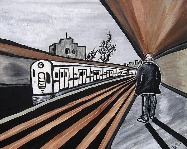 Danielle Davis - Train Station NY
