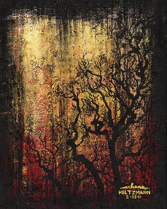 Tree Print by Arleana Holtzmann