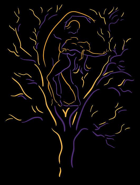 Tree Dancers Print by Shane Robinson
