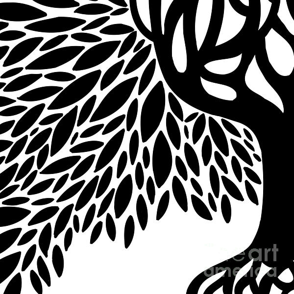 Tree Graphic Print by HD Connelly