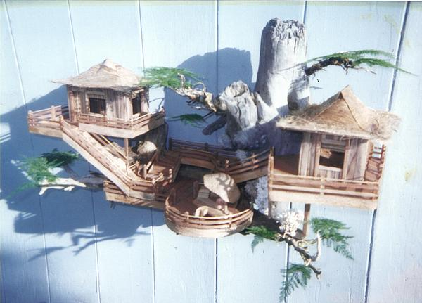 Tree House Condo Sculpture