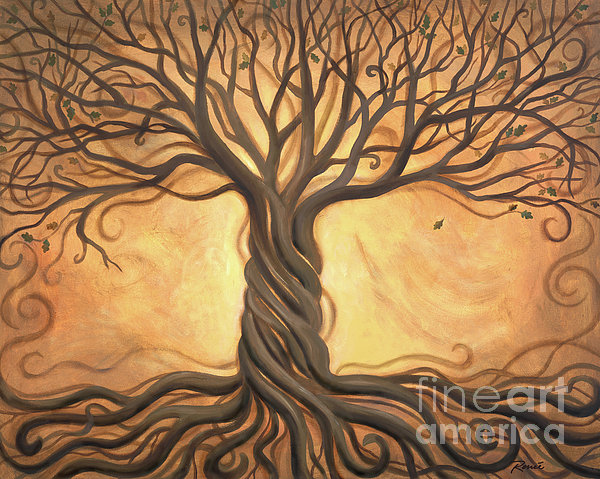 Tree Of Life Print by Renee Womack