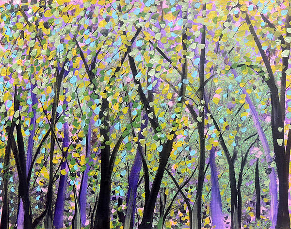 Family Treasures PRIVATE GALLERY - Trees In The Sunny Forest