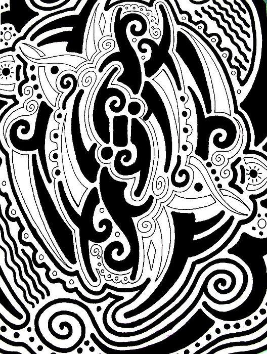 Tribal Print by Andrew Padula