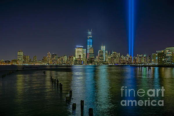 Tribute In Lights Print by Susan Candelario