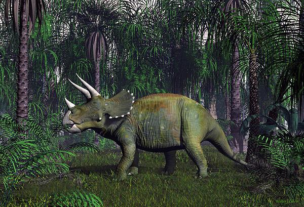 Walter Colvin - Triceratops Dinosaur