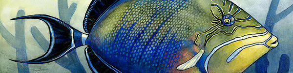 Triggerfish Print by Alyssa Parsons