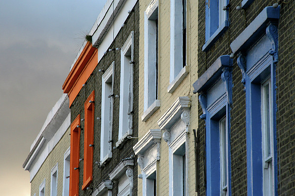 Trois Couleurs Camden Print by Michael Reeve