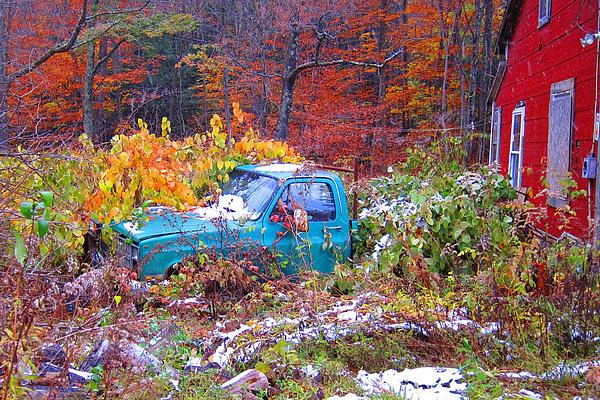 Richard Migot - Truck in the Yard