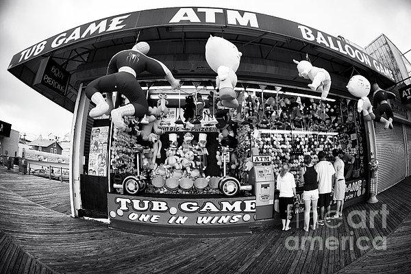 Tub Game Print by John Rizzuto