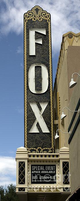 Tucson: Fox Sign, 2008 Print by Granger