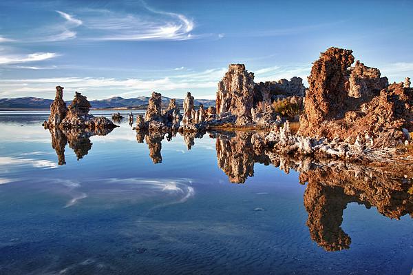 Tufas At Mono Lake Print by Mimi Ditchie Photography