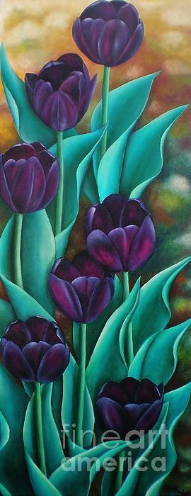 Tulips Print by Paula L