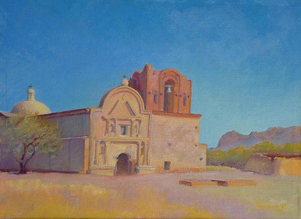 Tumacacori Mission Print by John Marbury