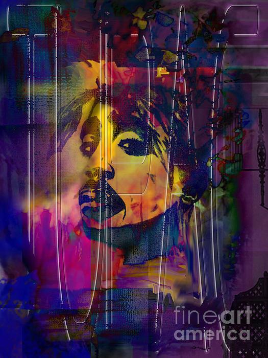 Tupac Print by Christine Mayfield