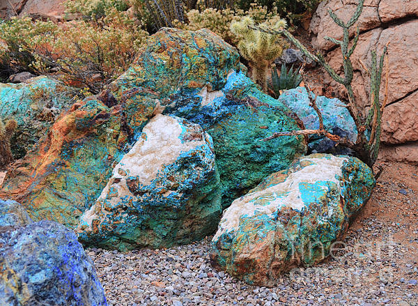 Donna Van Vlack - Turquoise Rocks