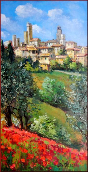 Bruno Chirici - Tuscan village