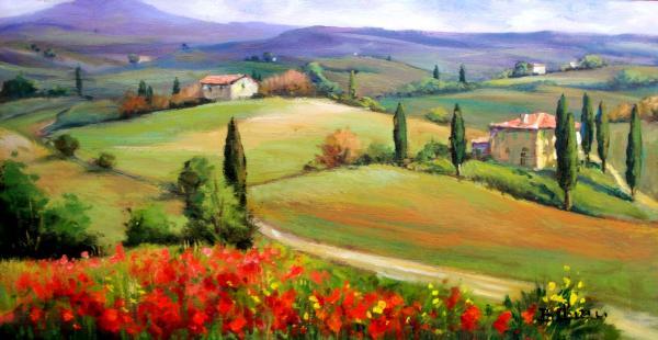 Bruno Chirici - Tuscany panorama