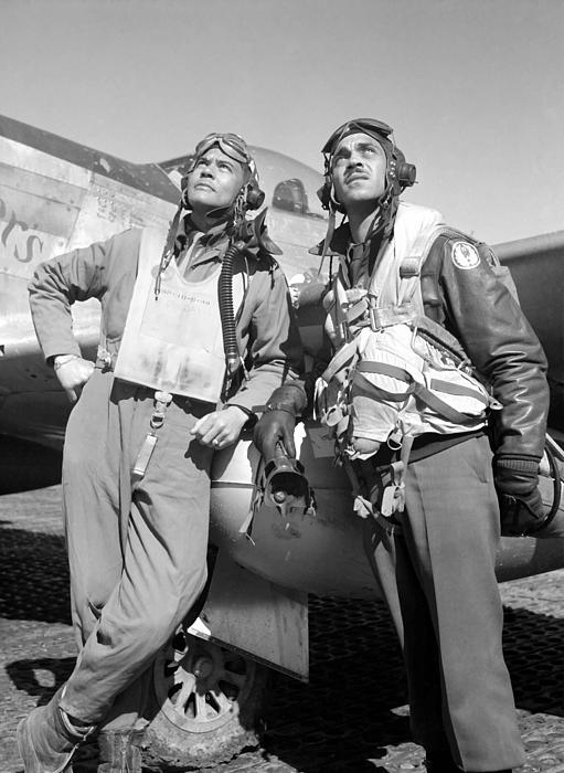 Tuskegee Airmen Print by War Is Hell Store