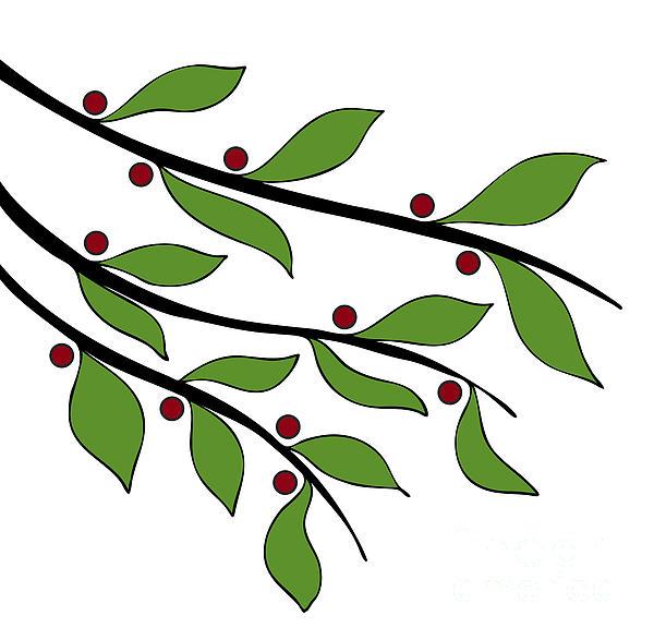 Twigs Print by Frank Tschakert