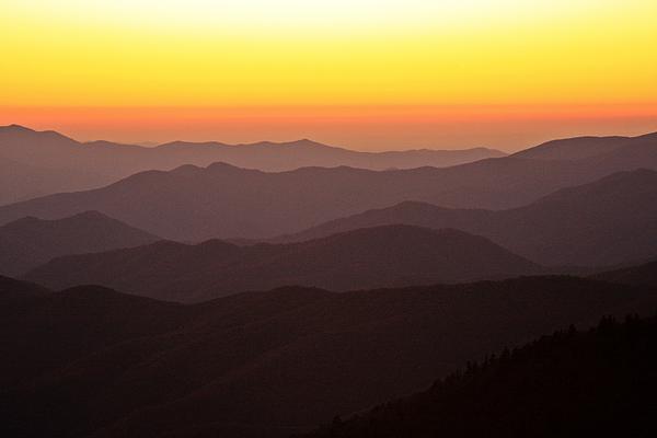 Candee Brown - Twilight over Great Smoky Mountains