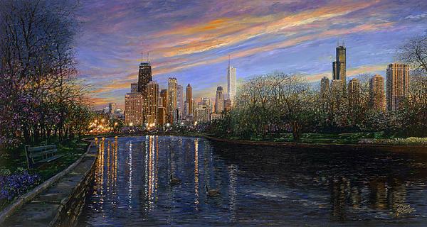 Twilight Serenity Print by Doug Kreuger