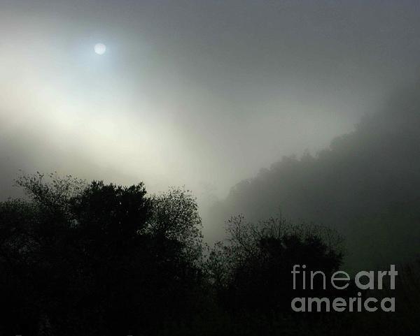 Twilight Valley Of The Moon California Print by Gus McCrea