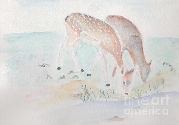 Debi Hamari - Twin Deer