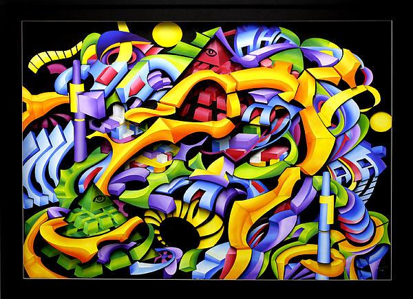 Twisted Blackout Print by Jason Amatangelo